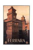 Travel Poster for Ferrara Art