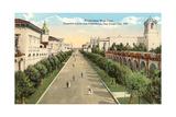 El Prado, Balboa Park Posters