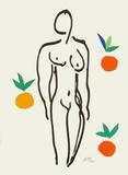 Verve - Nu aux oranges Samletrykk av Henri Matisse