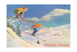 Skiing, Whitefish Posters