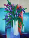 Bouquet D Iris Særudgave af Claude Gaveau