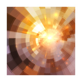 Abstract Shining Mosaic Background Prints by  art_of_sun