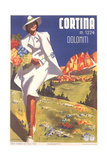Travel Poster for Cortina Posters