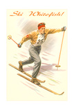 Ski Whitefish, Old-Fashioned Cross Country Prints