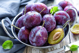 Plums Photographic Print by Sea Wave
