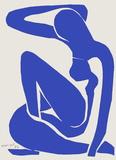 Verve - Nu bleu VIII Impressão colecionável por Henri Matisse