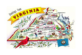 Greetings from Virginia Prints