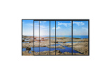 Panoramic Modern Window with a Stones and Sea Landscape Poster by  Whiteisthecolor