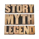 Story, Myth, Legend Prints by  PixelsAway