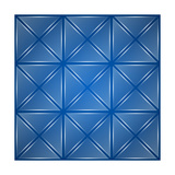 Glass Triangles Background Prints by Den Rakhuba