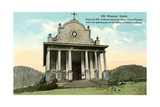 Old Mission, Coer D'Alene Print
