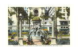 Horton Plaza Fountain Poster