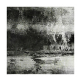 Art Abstract Acrylic Background in Black, Grey and White Colors Prints by Irina QQQ