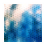 Abstract Blue Background Premium Giclee Print by  epic44