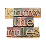 Know the Rules Print by  PixelsAway