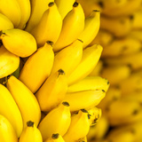 Bunch of Ripe Bananas Background Prints by  mazzzur