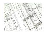 Printed Blueprint Prints by  taylorjackson