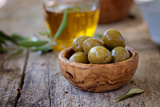 Fresh Olives Prints by  mythja