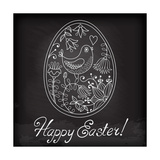 Easter Egg Drawn by Hand Posters by  Baksiabat