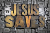 Jesus Saves Photographic Print by  enterlinedesign