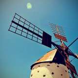 Old Windmill Fuerteventura, Canary Islands, Spain Photographic Print by  nito