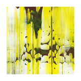 Abstract Yellow Painting Texture Poster by  oriontrail2