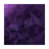 Abstract Triangle Background Posters by  Ms.Moloko