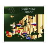 Brazil 2014 Team Europa Posters by  myotrostock