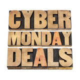 Cyber Monday Deals Posters by  PixelsAway