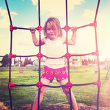 Girl at Playground Posters by  melking