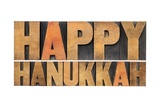 Happy Hanukkah Prints by  PixelsAway