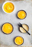 Delicious Lemon Curd Tartlets Photographic Print by  area381