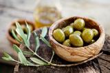 Fresh Olives Fotografisk tryk af mythja