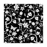 Abstract Floral Pattern Posters by  TAlex