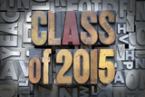 Class of 2015 Poster von  enterlinedesign