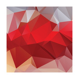 Abstract Triangle Background Prints by Dmitriy Sergeev