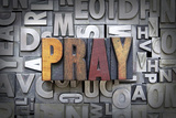 Pray Fotografisk tryk af enterlinedesign