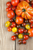 Tomatoes Photographic Print by  IngridHS