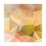 Abstract Triangle Background Print by Dmitriy Sergeev