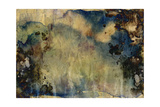 Abstract Hand Painted Watercolor Background on Grunge Paper Texture Posters by  run4it