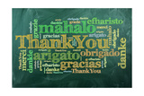 Thank You,Merci Prints by  ivosar