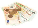 Euro Banknotes and Euro Cents Prints by  Yastremska