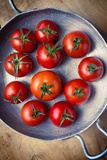 Rustic Tomatoes Fotografisk tryk af daughter