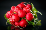 Bundle of Red Radish Photographic Print by  Rawlik