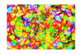 Abstract Bright Bokeh Background Posters by  Dink101
