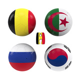 H Group of the World Cup Premium Giclee Print by  croreja