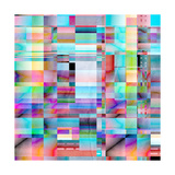 Abstract Bright Background Prints by  Tanor