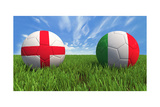 England-Italy Prints by  mhristov