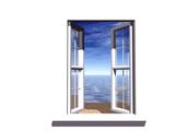Opened Window Kunstdrucke von  Serp