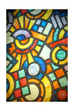 Stained Glass Poster by  cristi180884